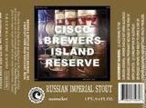 Cisco Brewers Island Reserve Russian Imperial Stout Beer