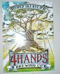 4 Hands Divided Sky Rye IPA Beer