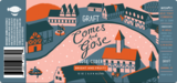 Graft Comes & Gose beer Label Full Size