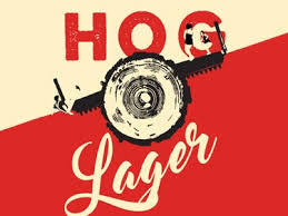 Black Hog Hog Lager beer Label Full Size