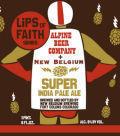 New Belgium Lips Of Faith Super IPA beer