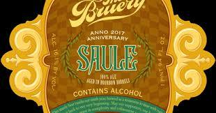 Bruery Saule Anniversary Ale 2017 Beer