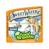 Sweetwater Cool Breeze Cucumber Saison Beer