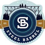 Steel Barrel Frost beer Label Full Size