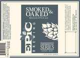 Epic Smoked and Oaked beer