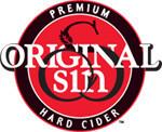 Original Sin Hard Apple Cider beer Label Full Size