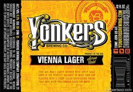 Yonkers 914 Vienna Lager beer Label Full Size