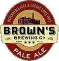 Brown's Krush beer