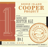 Goose Island Cooper's Project No. 1 Barrel-aged Scotch Ale Beer