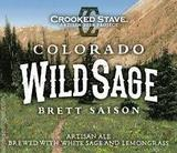 Crooked Stave Wild Sage Saison beer