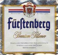 Fürstenberg Pilsner beer Label Full Size