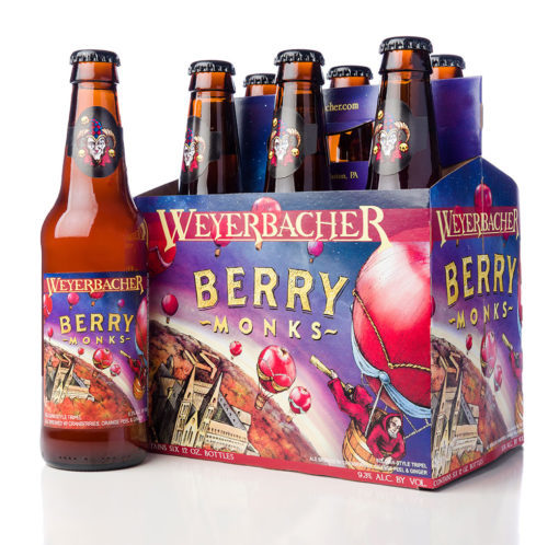 Weyerbacher Berry Monks beer Label Full Size