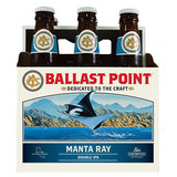 Ballast Point Manta Ray | Style: Double IPA | 8.5% ABV | San Diego, CA | Ballast Point| Beer