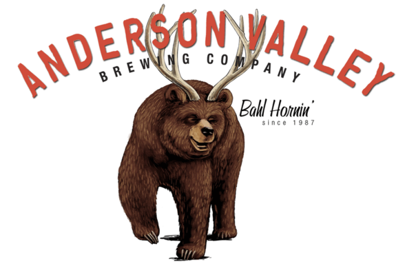 Anderson Valley Bourbon Barrel Stout beer Label Full Size