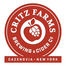 Critz Farms Four Screw beer Label Full Size