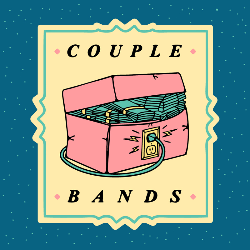 Hudson Valley Couple Bands beer Label Full Size