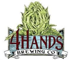 4 Hands Single Speed beer Label Full Size