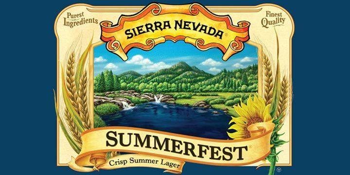 Sierra Nevada Summerfest beer Label Full Size