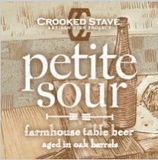 Crooked Stave Petite Sour beer