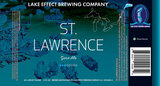 Lake Effect St Lawrence Beer