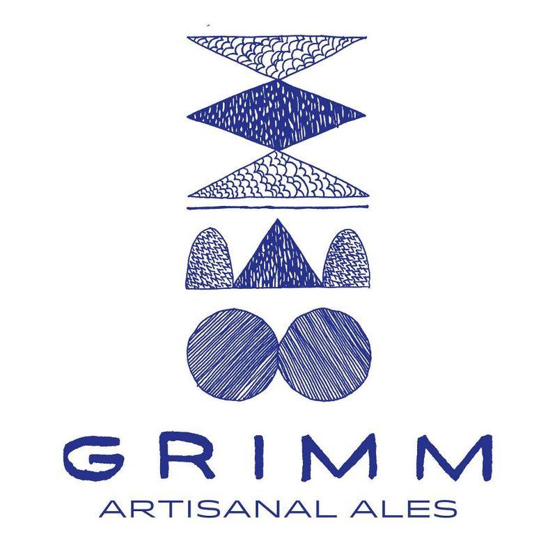 Grimm Idaho 7 Double IPA beer Label Full Size
