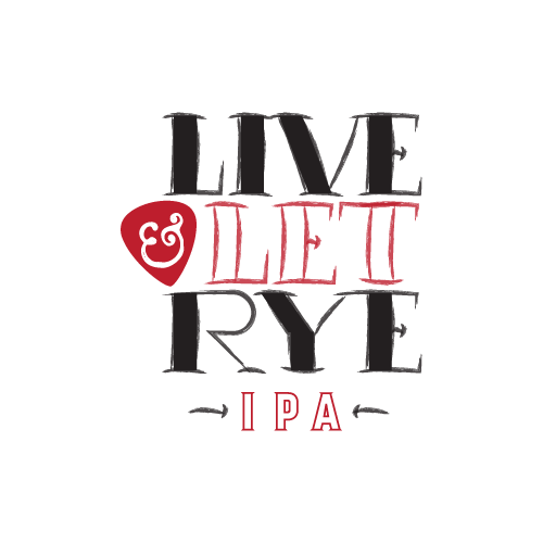 Fairfield Craft Ales Live & Let Rye beer Label Full Size