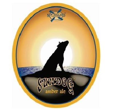 New Holland Sundog Amber beer Label Full Size