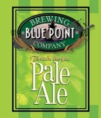 Blue Point Pale Ale beer Label Full Size
