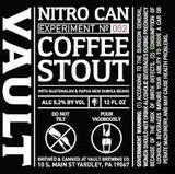 Vault Full City Coffee Stout Nitro beer