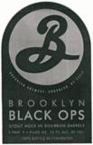 Brooklyn Black Ops 2011 beer