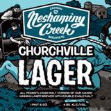 Neshaminy Creek Churchville Lager All PA Malt Beer