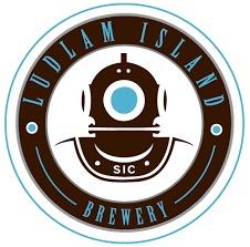 Ludlam Island Lamplight beer Label Full Size
