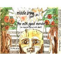 Middle Brow The Milk-Eyed Mender beer Label Full Size