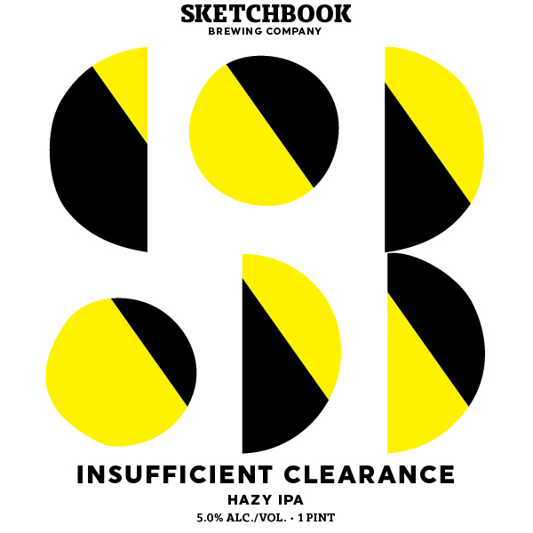 Sketchbook Insufficient Clearance beer Label Full Size