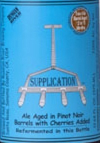 Russian River Supplication 2011 beer Label Full Size