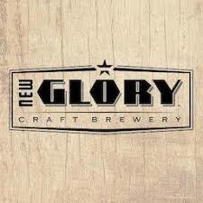 New Glory Cloudy With A Chance Of Clarity beer Label Full Size