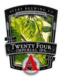 Avery 24th Anniversary Double IPA Beer