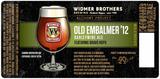 Widmer Brothers Old Embalmer '12 beer
