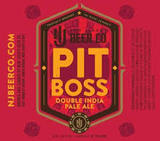 NJ Beer Pit Boss Double IPA Beer
