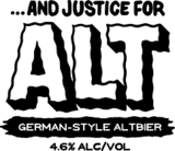 Neshaminy Creek And Justice For Alt beer