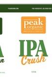 Peak Organic Evergreen & Crush Beer