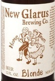 New Glarus Hometown Blonde beer