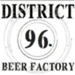 District 96 Cask Silent Majority DDH w/ Mosaic and Columbus beer Label Full Size