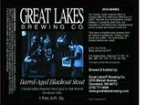 Great Lakes Blackout Stout 2011 beer