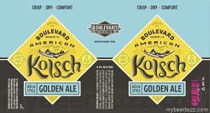 Boulevard American Kolsch beer Label Full Size