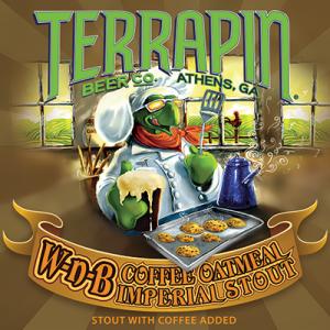 Terrapin Wake-N-Bake Nitro beer Label Full Size
