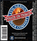 Evil Genius Trick or Treat beer