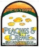 Short's Peaches and Creme beer