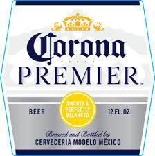 Corona Premier beer Label Full Size