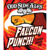 Odd Side Falcon Punch! beer Label Full Size